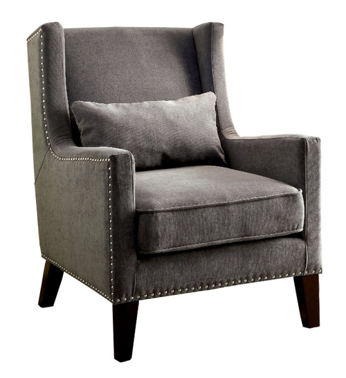 Ayaka Gray Accent Chair