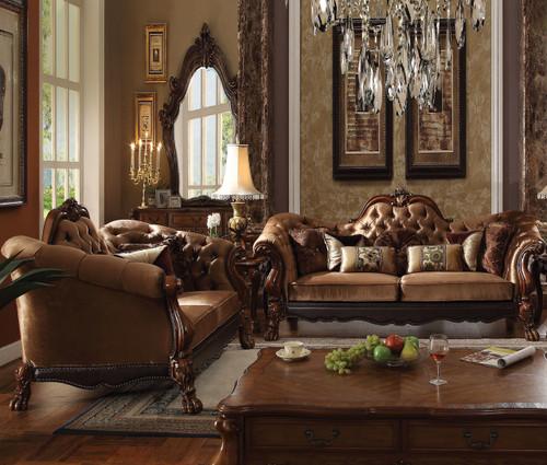 Ackerley Brown Sofa & Loveseat
