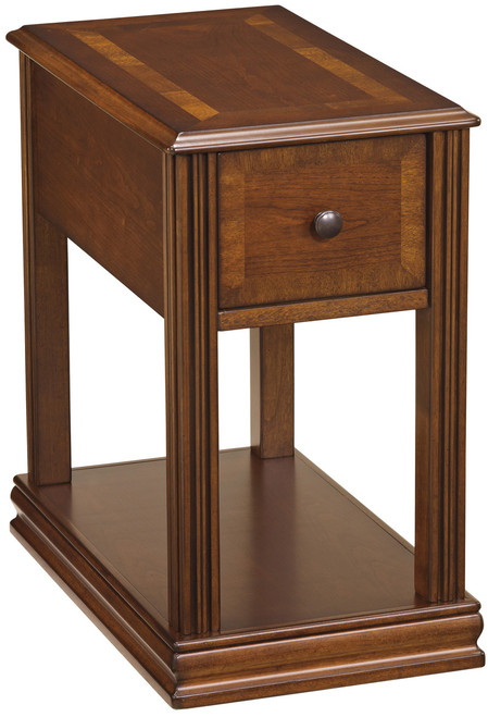 Alicea Brown II Chairside Table