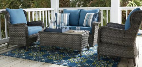 Masie 4Pc Outdoor Patio Sofa Set