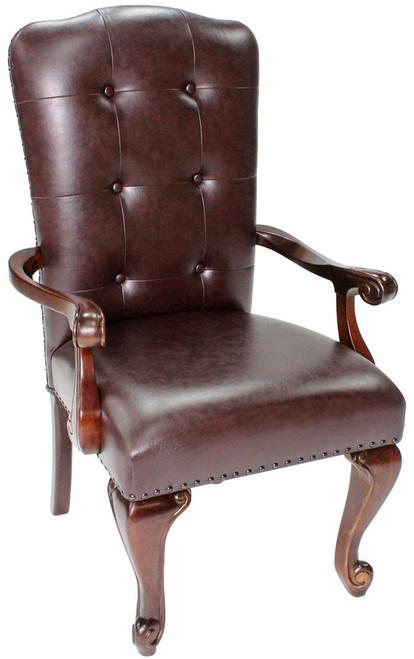 Bradford Dark Brown Arm Chair