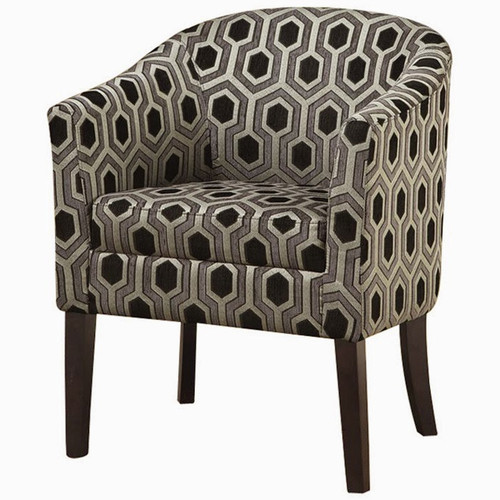 Arick Hexagon Accent Chair