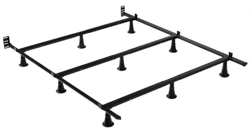 Prestige Queen, King, and California King Bed Frame with 9 Glides