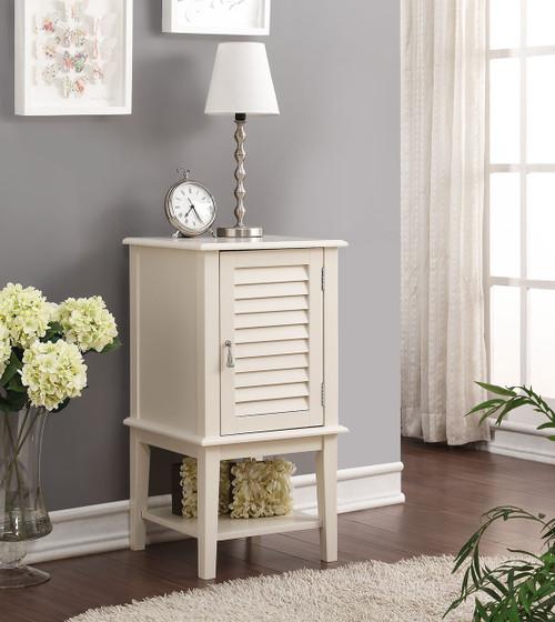 Abba White Floor Cabinet