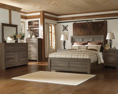 Hacienda Aged Bedroom Set