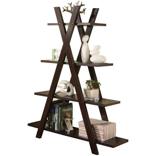 Ajax Cappuccino Bookcase