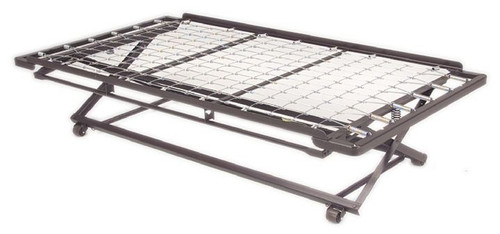 Twin Link Spring Pop-UP Trundle With/2 Cross Supports- Made In The USA