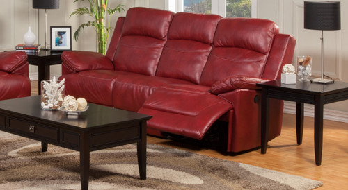 Albert Red Reclining Sofa