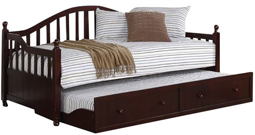 Abington Cappuccino Daybed With Trundle