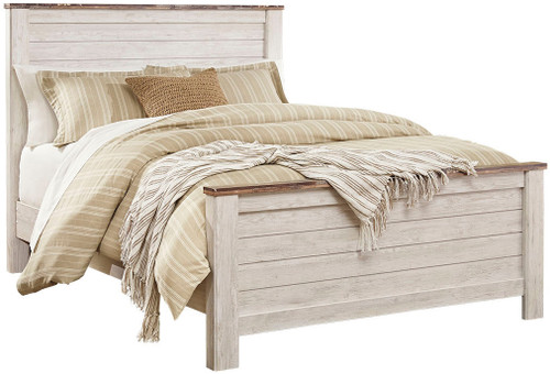 Cresthill White Bed