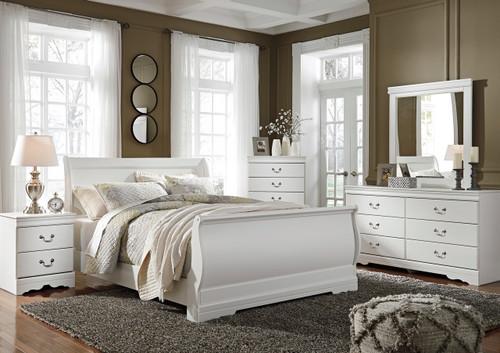 Paris White Bedroom Set