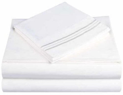 Royal White Sheet Set