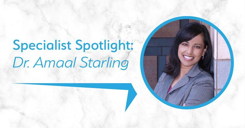 Headache Specialist Spotlight: Dr. Amaal Starling