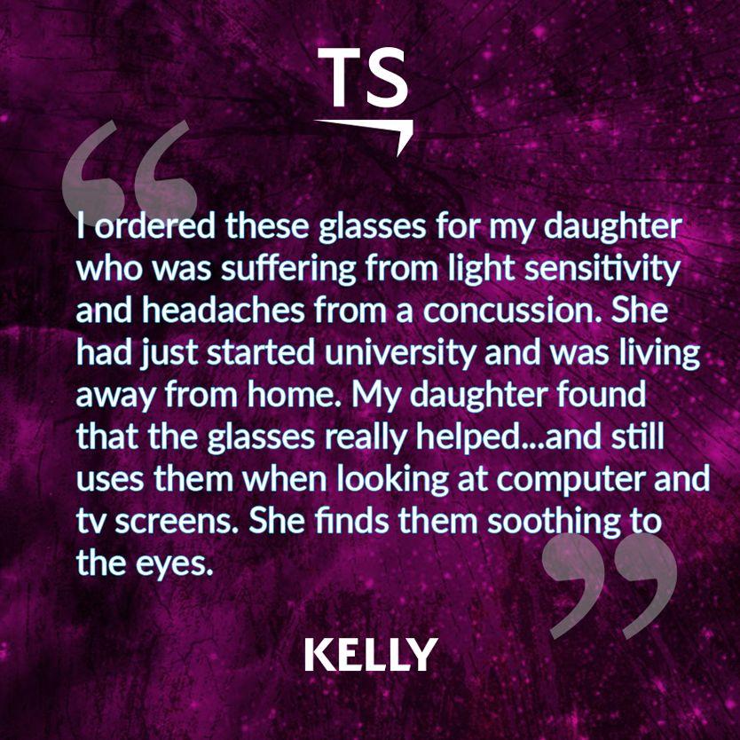 Kelly's TheraSpecs Story