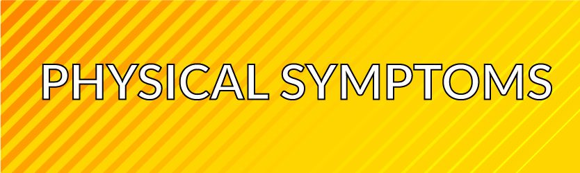 Physical Symptoms Post Concussion Section