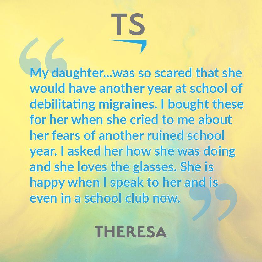 Theresa's TheraSpecs Story