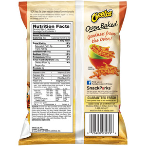 Baked Cheetos, 1.5 oz. Bag (1 Count)