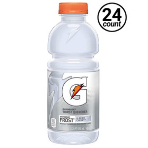 Gatorade, Frost Glacier Cherry, 20.0 oz. Bottle (24 Count)