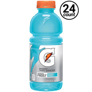 Gatorade, Frost Glacier Freeze, 20.0 oz. Bottle (24 Count)