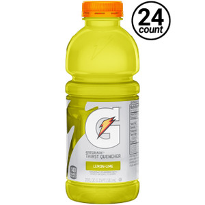 Gatorade, G2 Lemon Lime, 20 oz. Bottles (24 Count Case)
