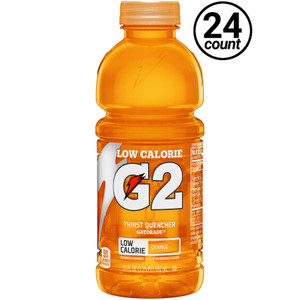 Gatorade, G2 Orange, 20 oz. Bottles (24 Count Case)