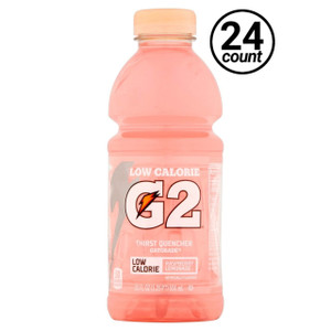 Gatorade, G2 Raspberry Lemonade, 20.0 oz. Bottle (24 Count)