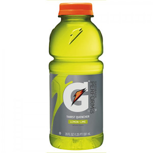 Gatorade, Lemon Lime, 20.0 oz. Bottle (1 Count)