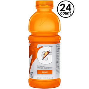 Gatorade, Orange, 20 oz. Bottles (24 Count Case)