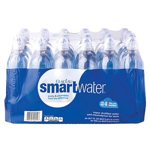 Glaceau, Smart Water, 1 Liter (24 Count)
