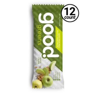 Good Greens Greek Yogurt Bar, Apple Crumb, 1.76 oz. Bar (12 Count)