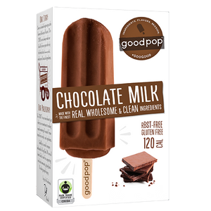 GoodPop, Chocolate Milk, 2.75 oz. (25 Count)