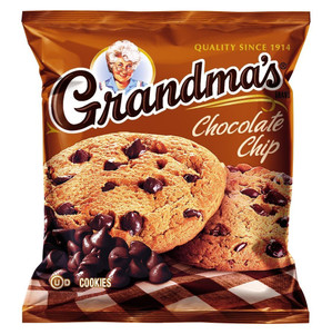 Grandma's, 2 Chocolate Chip Soft Cookies, 2.5 oz. Bag (1 Count)