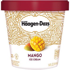 Haagen-Dazs, Destination Series Mango Ice Cream, Pint (1 Count)
