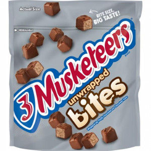 3 Musketeers, Unwrapped Bites, 6.0 oz. Bag (1 Count)