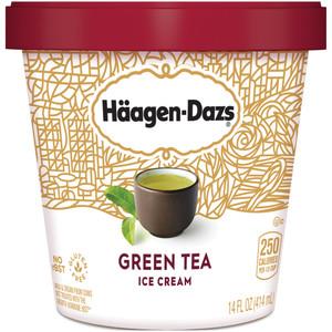 Haagen-Dazs, Green Tea Ice Cream, Pint (1 Count)