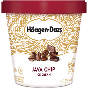 Haagen-Dazs, Java Chip Ice Cream, Pint (1 Count)