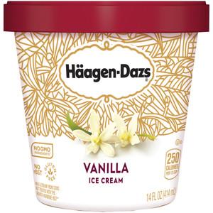 Haagen-Dazs, Vanilla Ice Cream, Pint (1 Count)