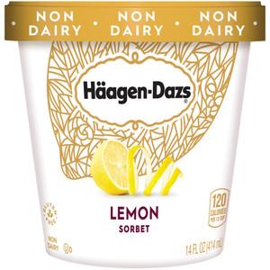 Haagen-Dazs, Lemon Sorbet, Pint (1 Count)