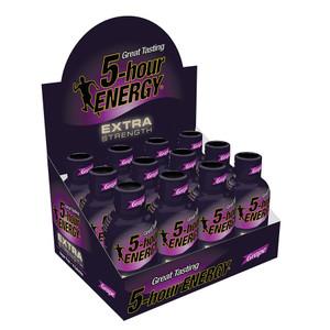 5-hour Energy, Grape Flavor Extra Strength, 1.93 oz. (12 Count)