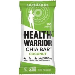Health Warrior, Coconut Chia Bar, 0.88 oz. (15 Count)