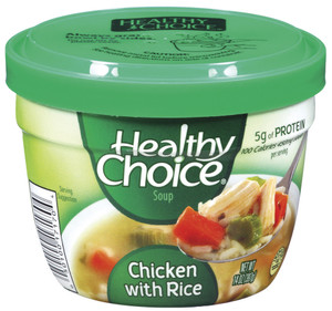 Healthy Choice, Chicken with Rice, 14 oz. Microwavable Soup Bowl (1 Count)
