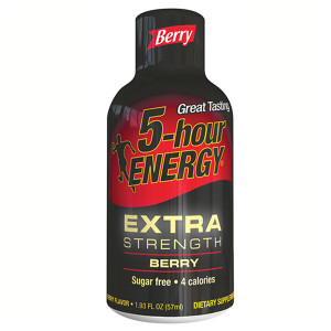 5-hour Energy, Berry Flavor Extra Strength, 1.93 oz. (12 Count)