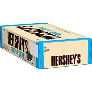 Hershey's, Cookies 'n' Creme Candy Bar, 1.55 oz. (36 Count)