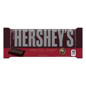 Hershey's, Special Dark Mildly Sweet Chocolate Bar, 1.45 oz. (36 Count)