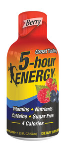 5-hour Energy, Berry Flavor, 1.93 oz. (12 Count)
