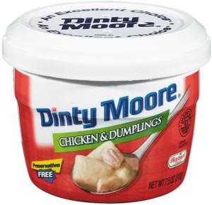 Hormel, Dinty Moore, Chicken & Dumplings, 7.5 oz. Microwavable Bowl (1 Count)