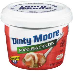 Hormel, Dinty Moore, Noodles & Chicken, 7.5 oz. Microwavable Bowl (1 Count)