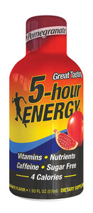 5-hour Energy, Pomegranate Flavor, 1.93 oz. (12 Count)