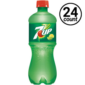 7 UP, 20 oz., Bottles (24 Count Case)
