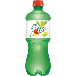 7 UP, Diet 7 UP, 20.0 oz. Bottle (1 Count)